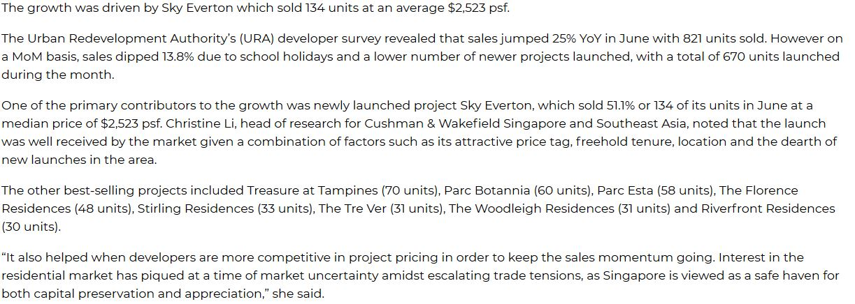 sky-everton-press-singapore-develoer-sales-in-june-up-25percent-to-821-units