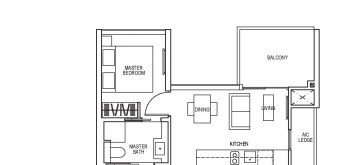 sky-everton-floor-plan-1-bedroom-study-a3-singapore