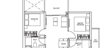 sky-everton-floor-plan-2-bedroom-b1-singapore