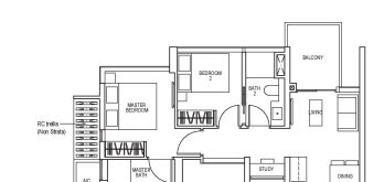 sky-everton-floor-plan-2-bedroom-study-b6-singapore